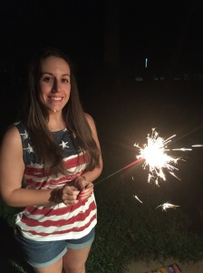 4th of july me sparkler